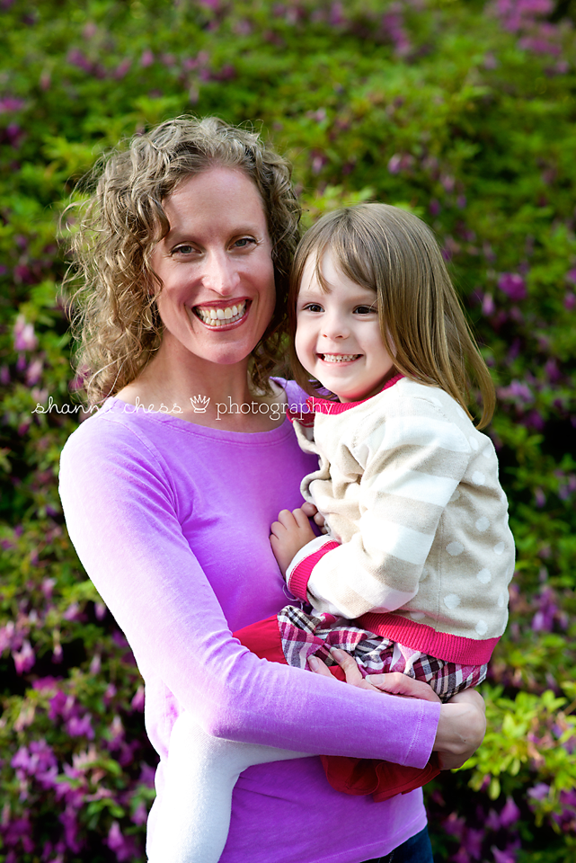 eugene oregon family photography aunt