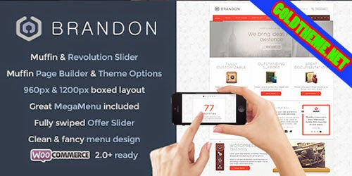 Download Brandon v1.6.4 Responsive Multi-Purpose WordPress Theme