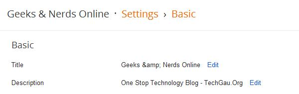 Multiple Authors On Blogger Blogs Settings