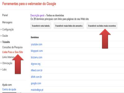 Google Disavow Links -  Rejeita links que não queres
