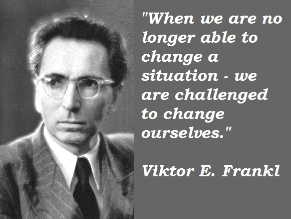 victor frankl In this rare clip from 1972, legendary psychiatrist and holocaust-survivor viktor frankl delivers a powerful message about the human search for meaning -- and the.