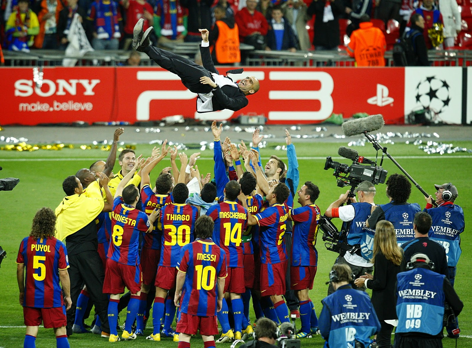 2011 Champions League Final - Barcelona v Manchester United