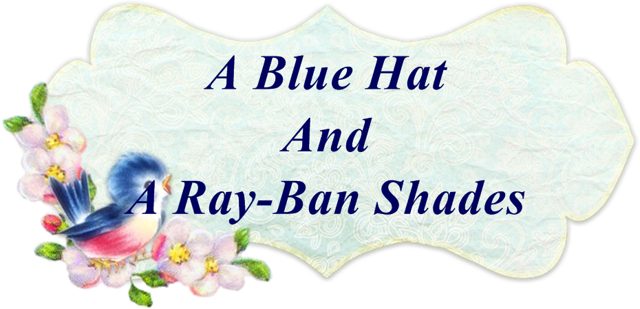 A Blue Hat and a Ray-ban Shades