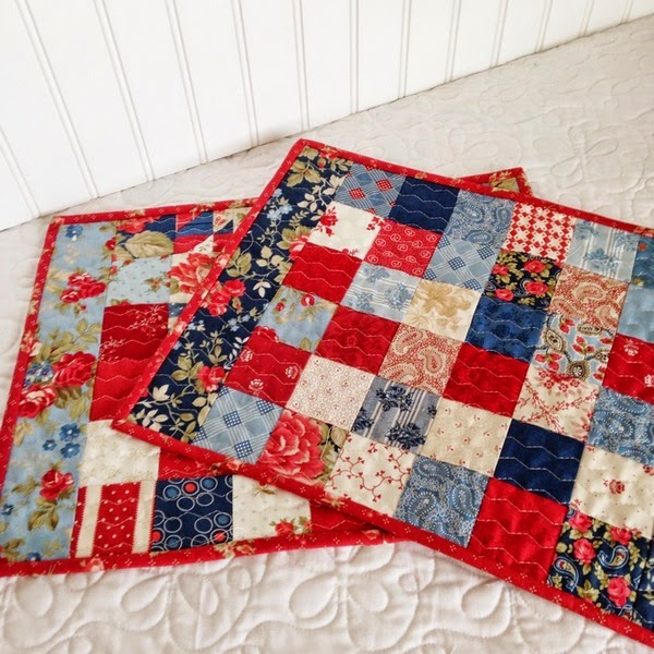 Small Quilted Gift Ideas To Make : Simply Small Quilt Projects A Quilting Life - a quilt blog