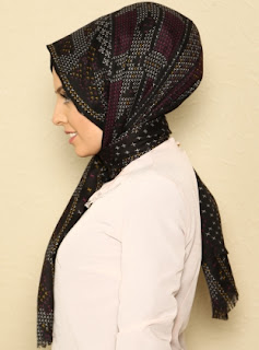 tutorial hijab selendang modern ala turki