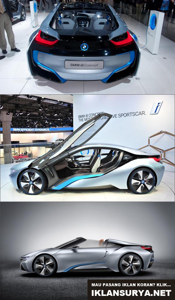 BMW i8 Spyder Hybrid