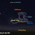 Mặt Trăng nằm ở cánh tay phải của chàng thợ săn Orion trên trời tối 7/12