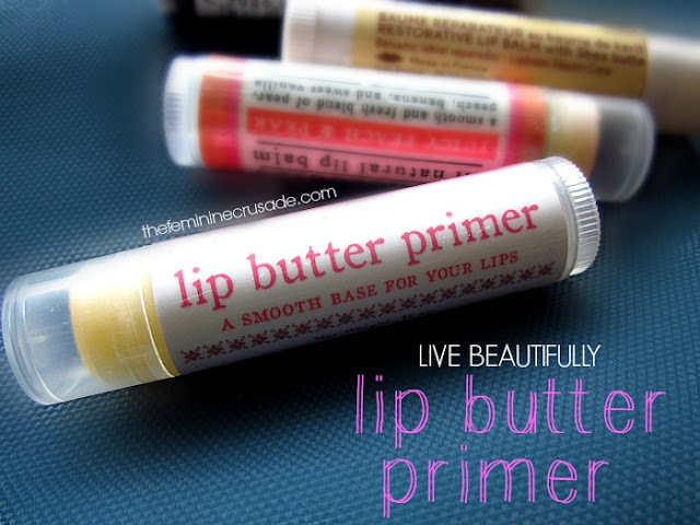 Live Beautifully Lip Butter Primer