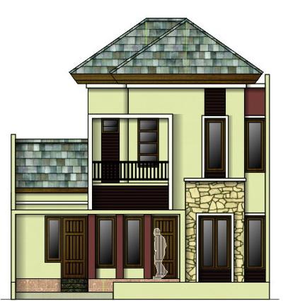 rumahku 1 denah rumah sederhana rumah type 80