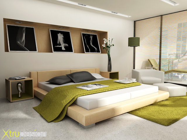 Interior design Bedroom hotel