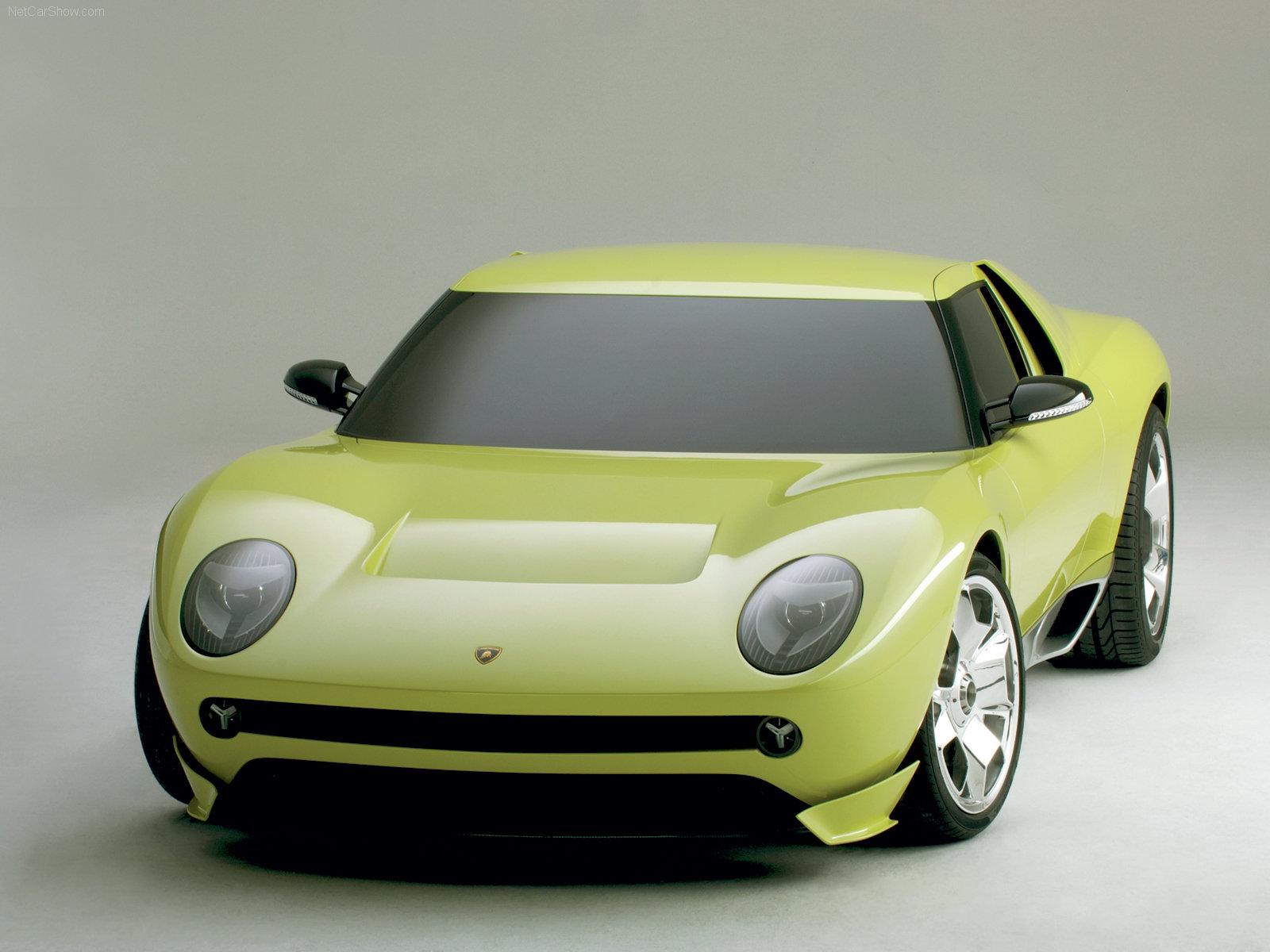 Hình ảnh siêu xe Lamborghini Miura Concept 2006 & nội ngoại thất