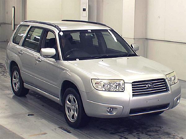 2006/Mar SUBARU FORESTER 2.0X