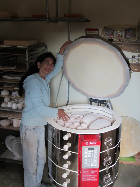 Wendy's new kiln