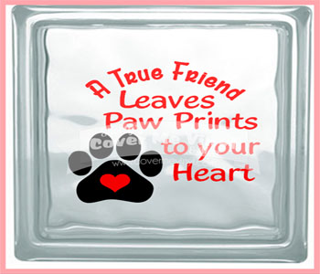 True Friend Paw Cube Light
