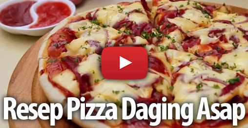 VIDEO] Pizza Daging Asap ala Dapur Umami | Resep Masakan Praktis