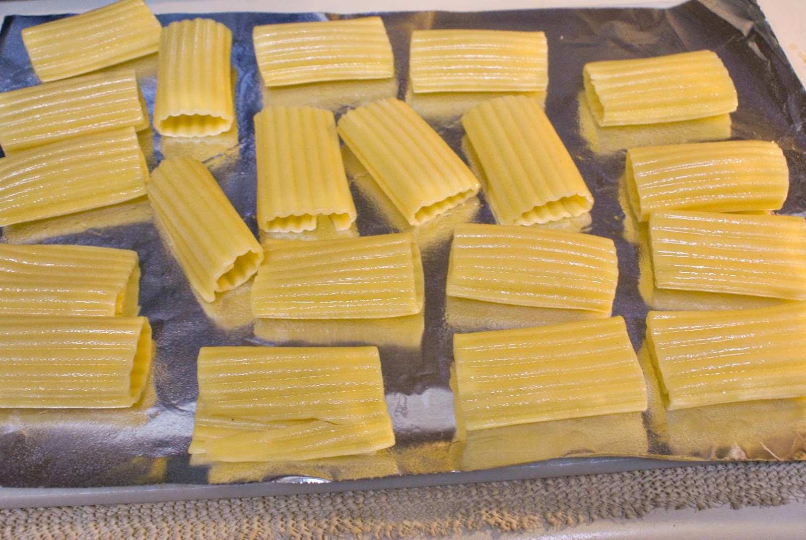 Large manicotti shells