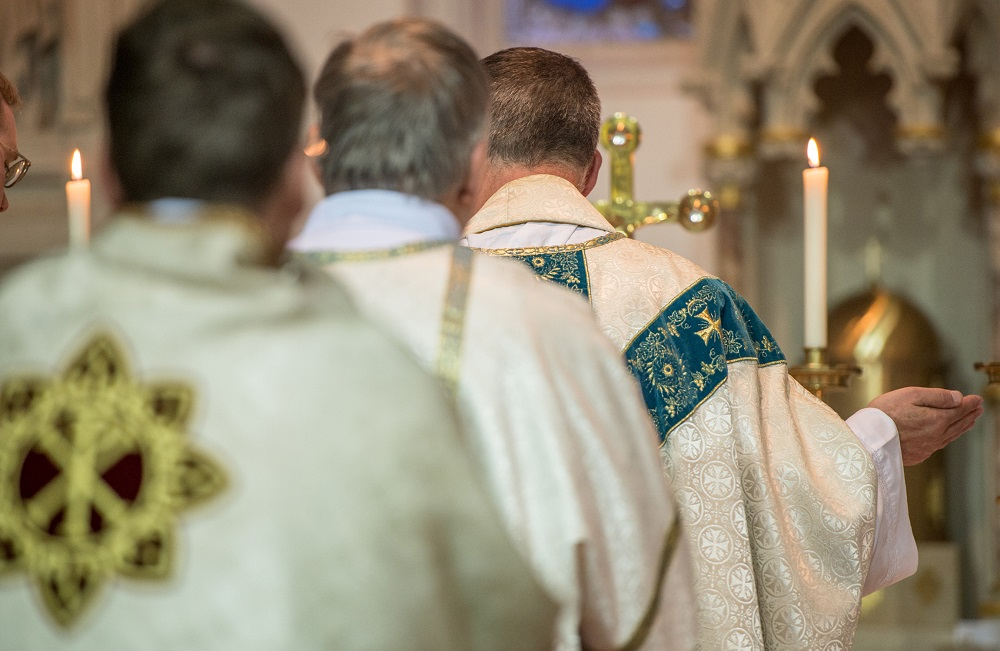 High Solemn Mass on the Feast Day of Pope Saint Pius X, St. Mary's Louth, Lincolnshire