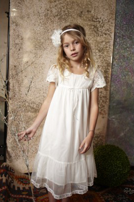bed8d917c5a3 Perfect for a country garden or barn wedding with daisy's wound through  their hair. My favourite is the cream wood nymph dress below …