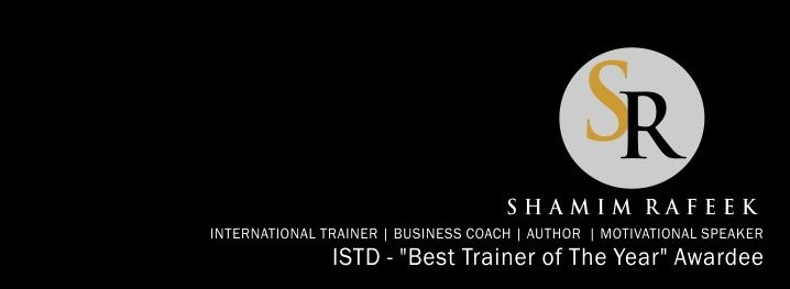 Shamim Rafeek - India's Best Corporate Trainer, Motivational Speaker, Author, Business Coach