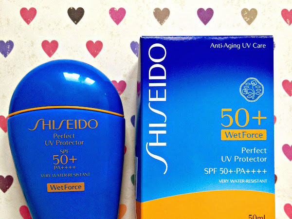 Review: Shiseido Perfect UV Protector SPF 50 WetForce