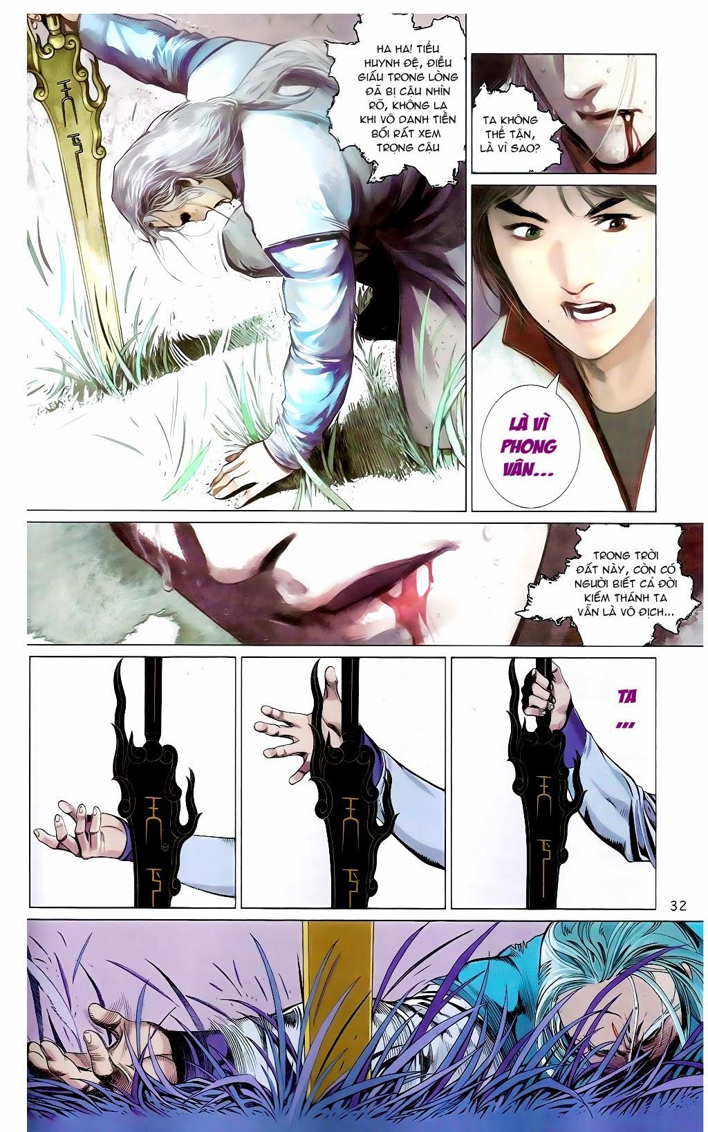 Phong Vân Chap 665 - Trang 31