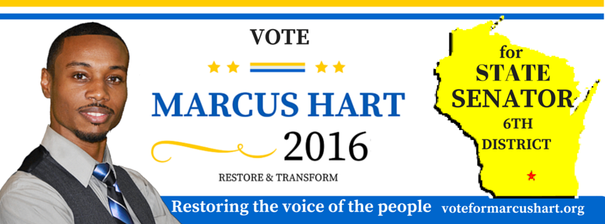 MPA Candidates Caucus Network Welcomes New Member - Candidate Marcus Hart, Senator District 6