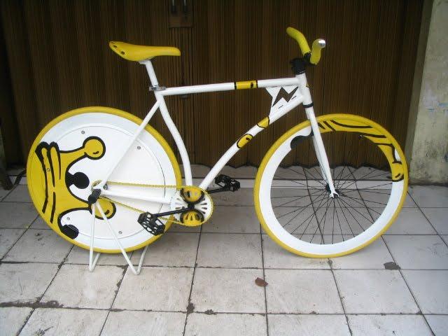 Kumpulan Gambar Modifikasi Sepeda Fixie ~ SukaHeboh.Com