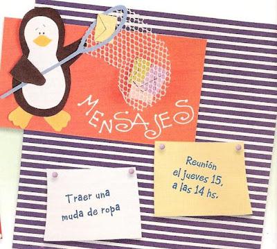 decoração da sala de aula com pinguins