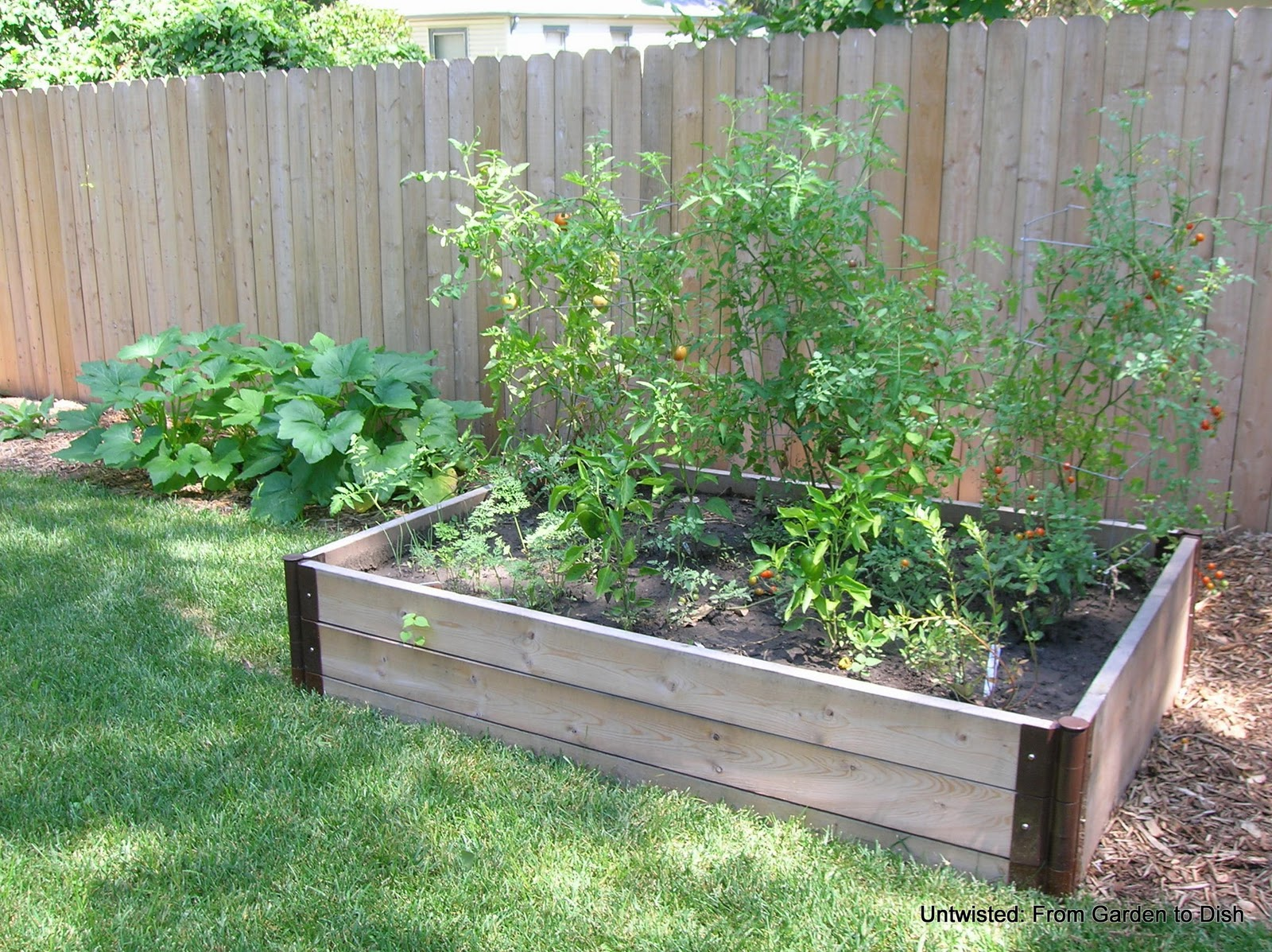 untwisted from garden to dish untwisted garden raised beds ForBest Material For Raised Garden Beds