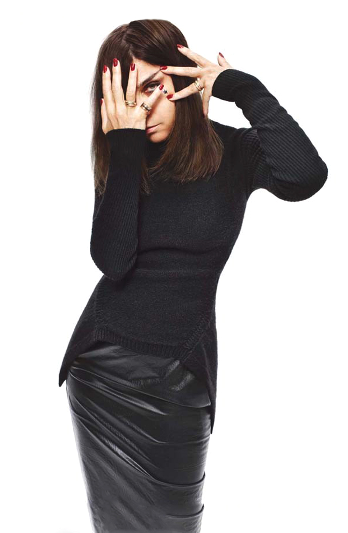 Carine Roitfeld collaborates with Uniqlo / Carine Roitfeld photographed by Terry Richardson for i-D Autumn 2011 issue #315 / via fashioned by love british fashion blog
