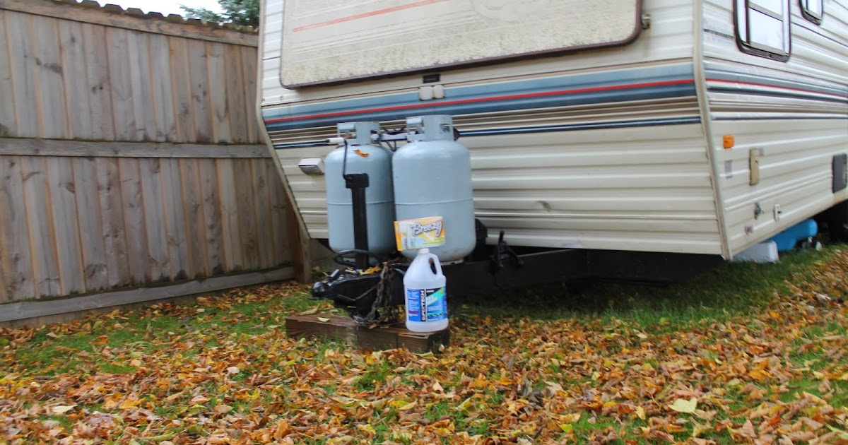 How to winterize your rv travel trailer 5th wheel for Minimalist living in an rv