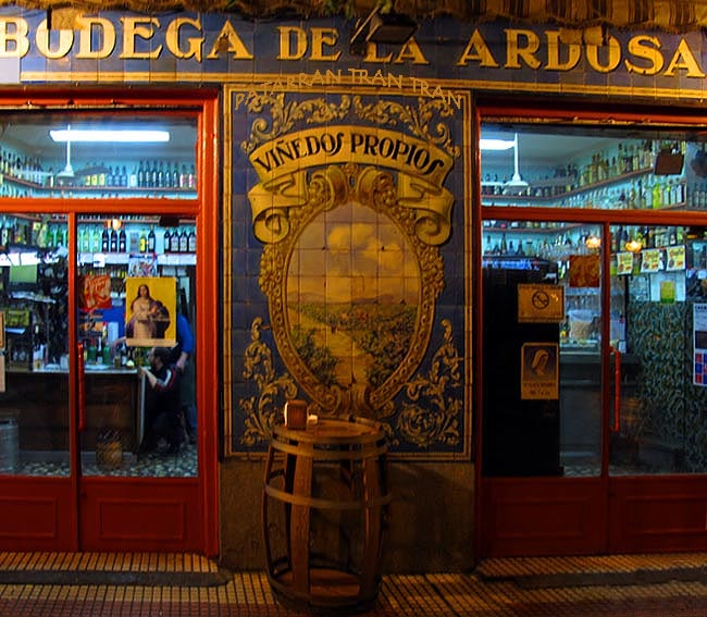 La Ardosa. Inspeccion Tabernaria. Calle Ponzano y aledaños