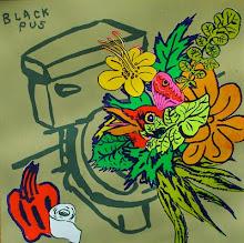 """BLACK PUS """"DOWN DOWN DA DRAIN"""" 7 inch"""
