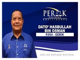 YB Dato' Hasbullah Bin Osman