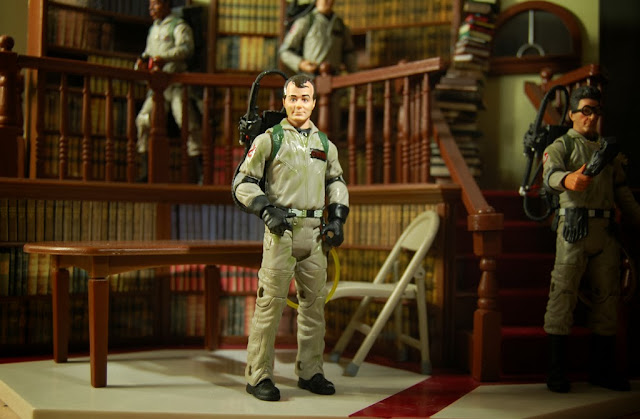 The Ghostbusters investigate Giles' library. It's that Ghostbusters/Buffy crossover I always wanted to see.