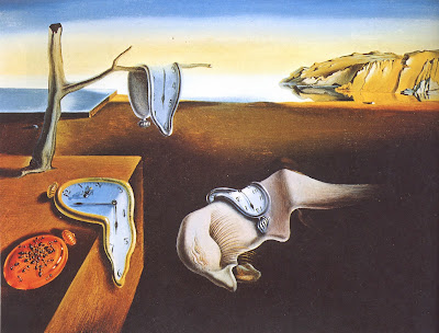 "Famous Painting ""The Persistence of Memory"" by Salvador Dali', 1931"