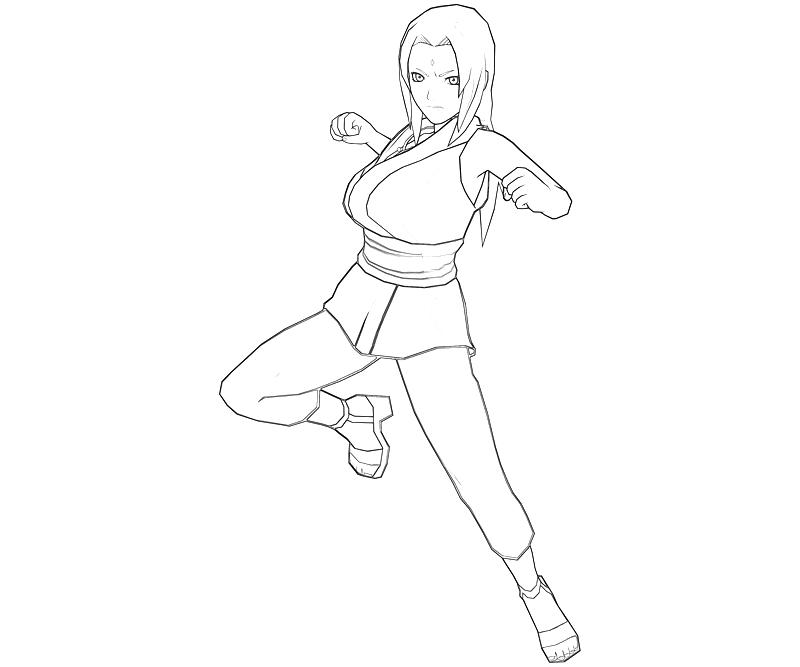 printable-naruto-tsunade-profil_coloring-pages