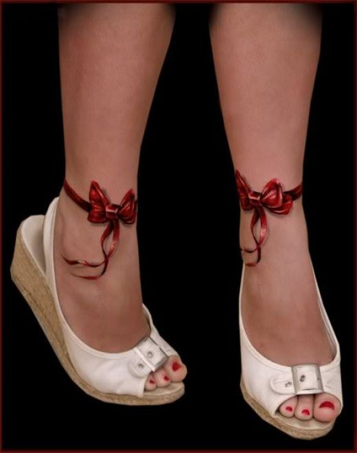 Gallery For gt Ankle Bracelet Tattoos Tumblr
