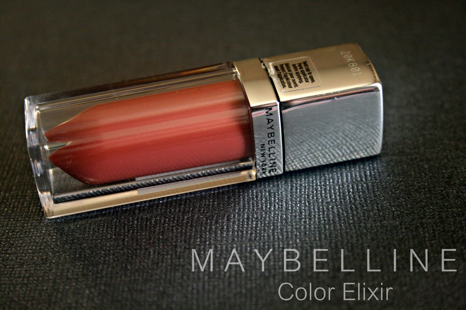 Maybelline New York Color Elixir in Caramel Infused Review, Photos & Swatches