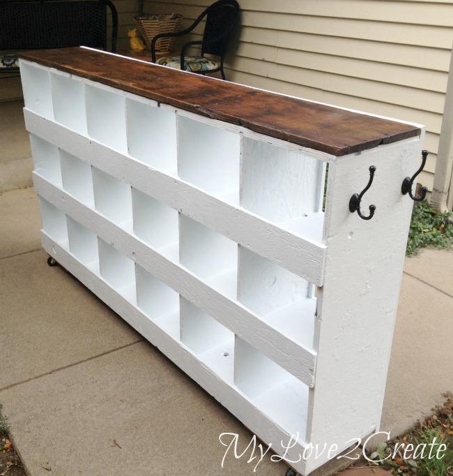 MyLove2Create, Cubby Shelf Revamp