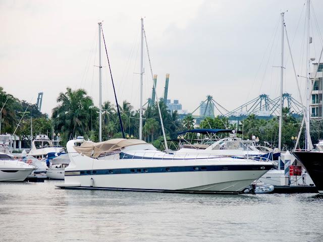 sentosa cove yacht