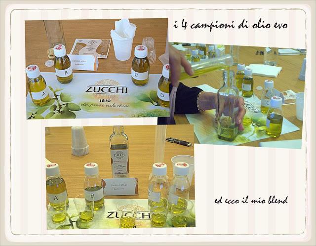 blend fruttato firmato Olio Zucchi e Ricettosando