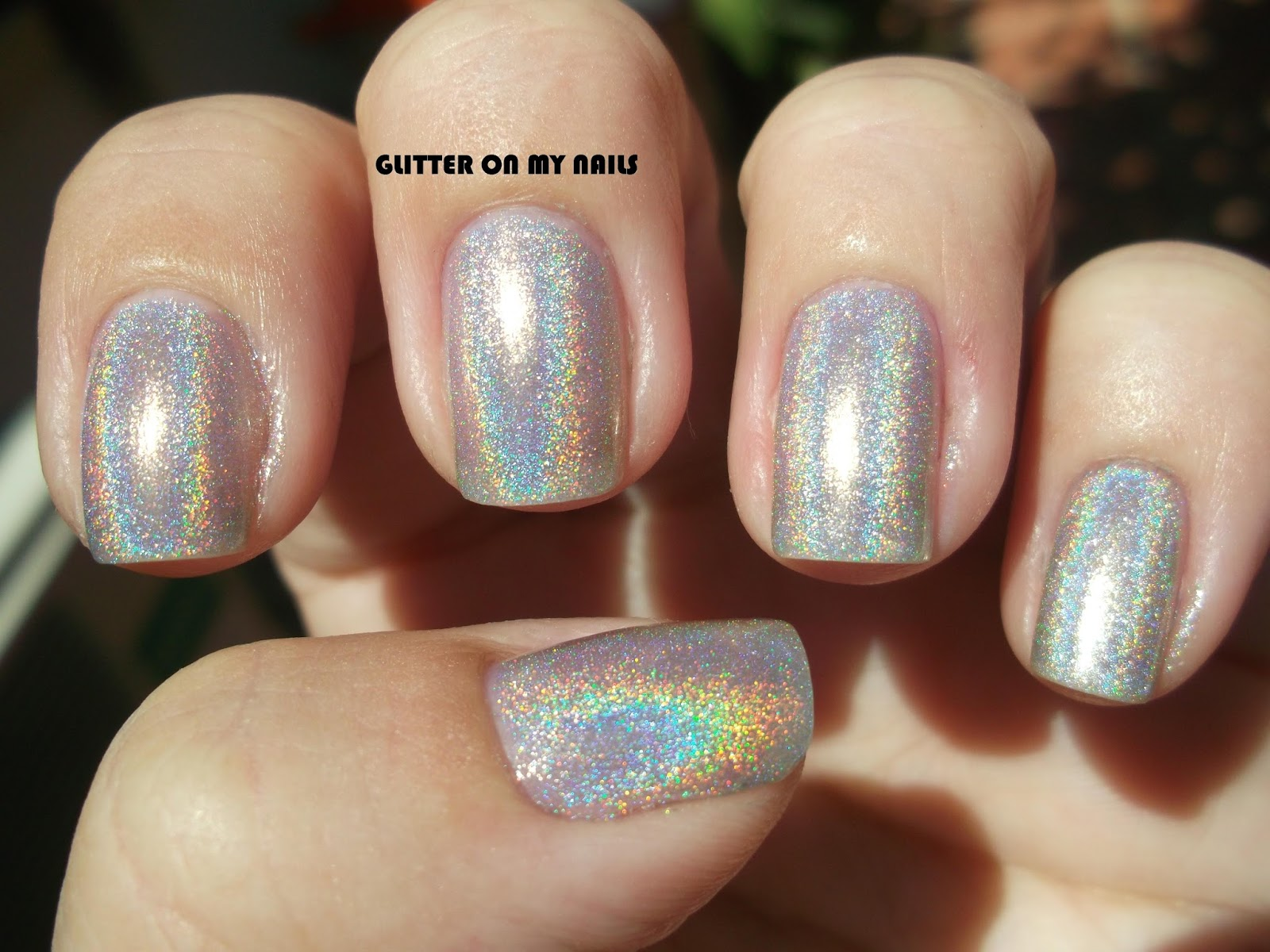 GLITTER ON MY NAILS: BPS ESMALTE HOLOGRÁFICO #1