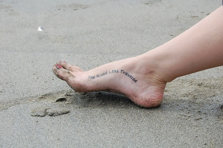 Feet Tattoo Quotes Tattoos For Girl on Feet