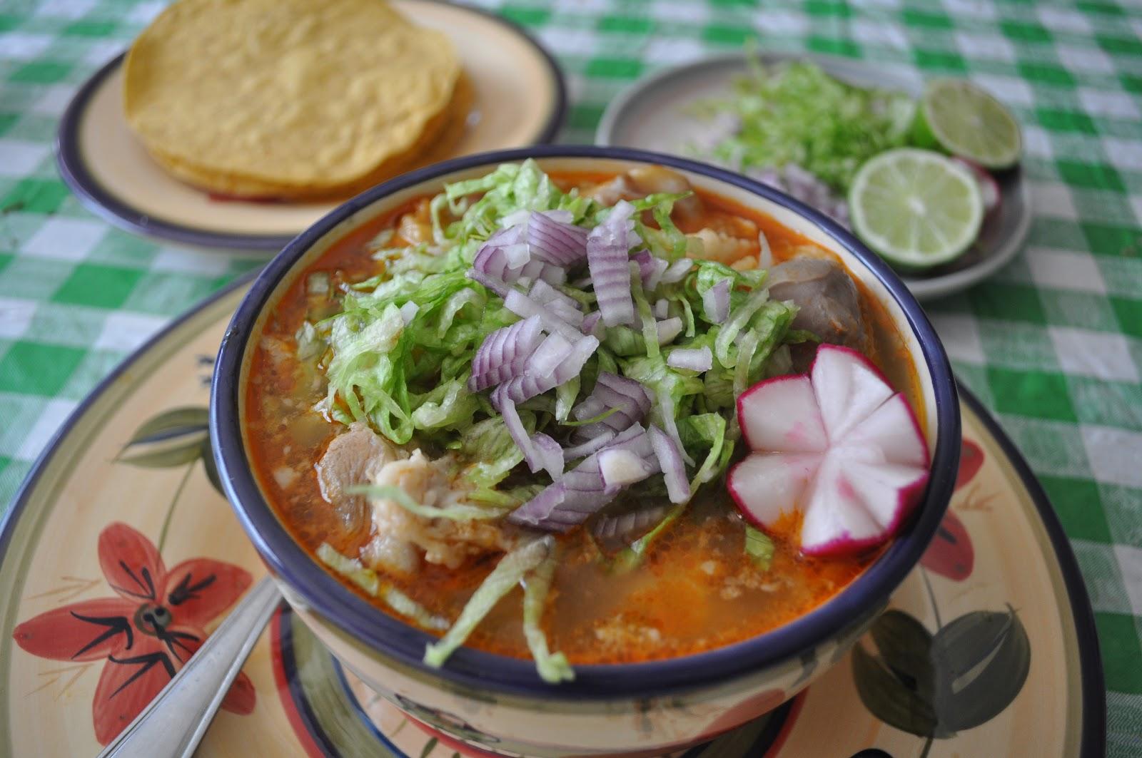 Jalisco Pozole (Red pozole)   Mex Spice