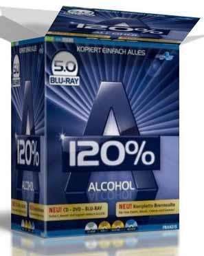 Download Alcohol Soft 120% v5.0 Blueray