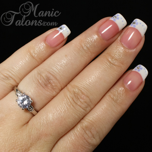 Jewelry in Candles Ring, American Manicure, French Manicure