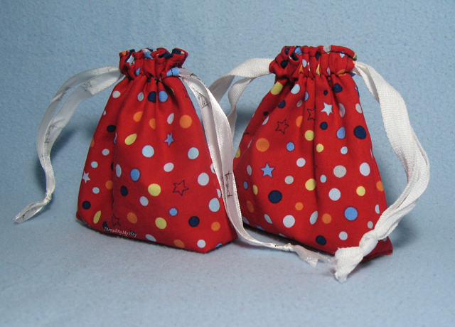 How to Sew a Cloth Gift Bag