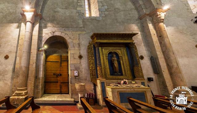 ESPIRA-DE-L'AGLY (66) - Eglise romane Sainte-Marie (Intérieur)