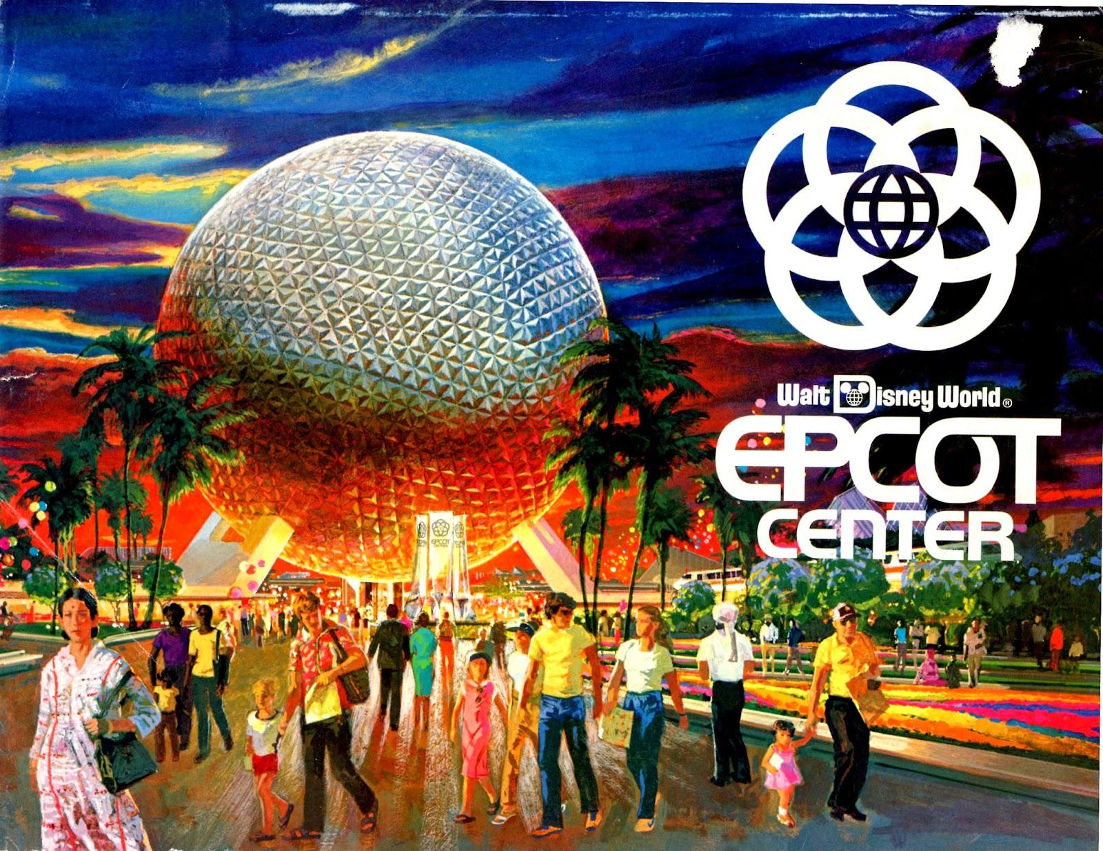 epcot center epcot center a pictorial souvenir